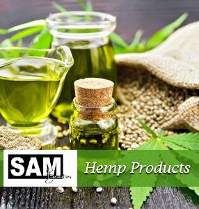 Hemp products with cbd oil